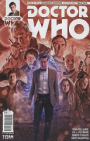 Doctor Who The Eleventh Doctor Adventures: Year Two #13 (Cover B)